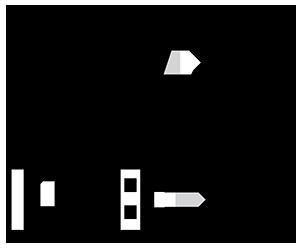 Hybrid T Shirts Logo Black