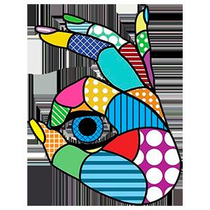 Logo Hand Eye